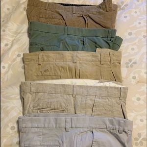 5 pair of 38 x 30 means pants